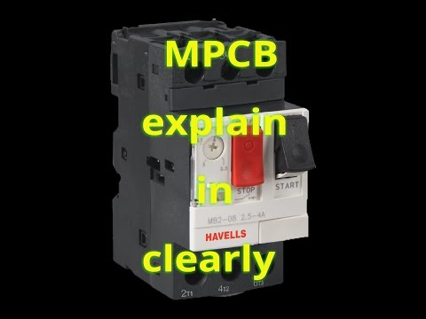 simple mpcb working principle with diagram/MPCB working and function explain in new 2017