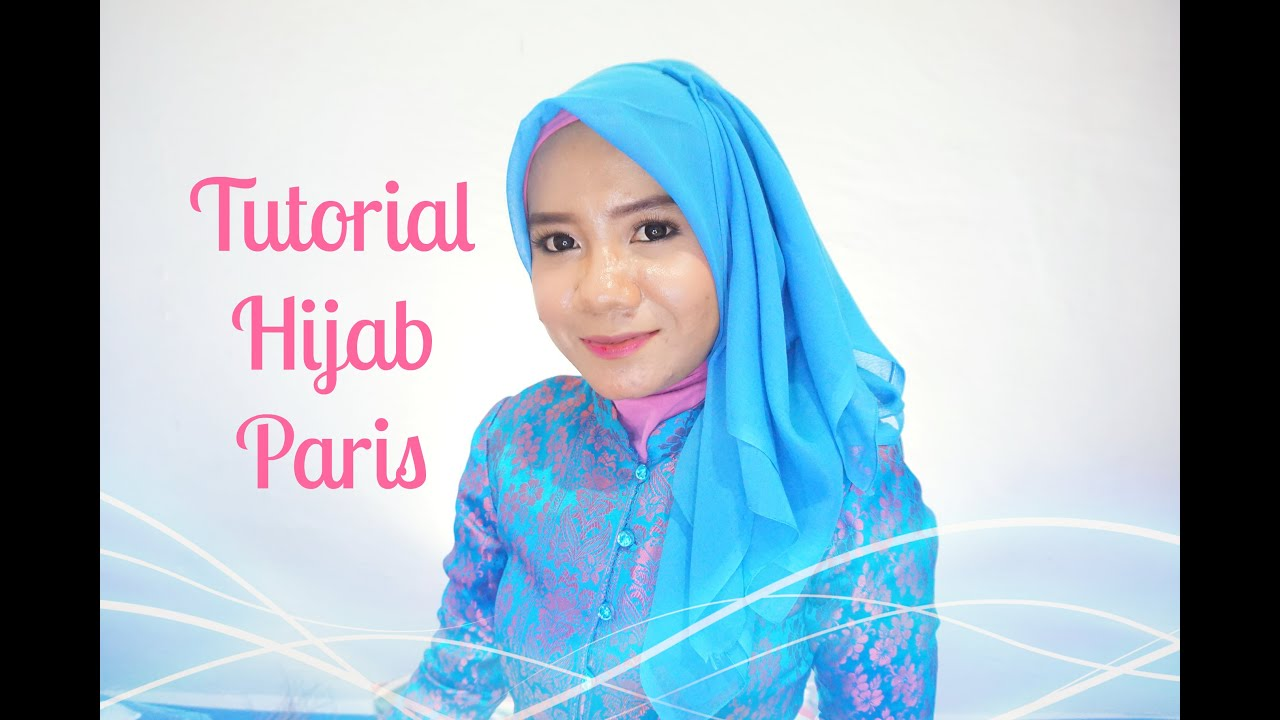 Tutorial Hijab Paris Segiempat Simple Alyn Devian AD7 YouTube