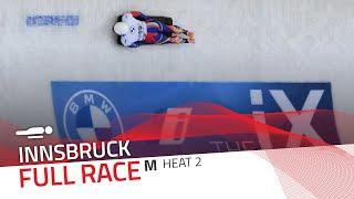 Innsbruck | BMW IBSF World Cup 2020/2021 - Men's Skeleton Heat 2 | IBSF Official