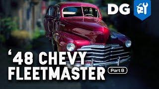 INTERIOR & CHROME: '48 Chevy Fleetmaster (Part 8)