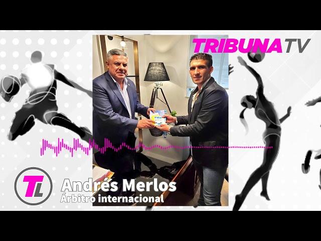 El sanrafaelino Andrés Merlos es árbitro internacional