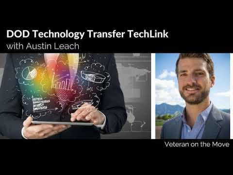 DOD Technology Transfer TechLink with Austin Leach