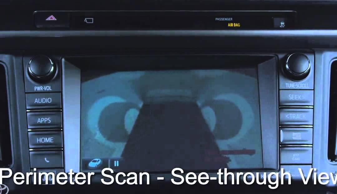 Watch 2016 Toyota Rav4 Hybrid Offers Birds Eye View Camera Gfiaepcsi3e