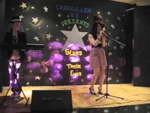 Kate Reilly as Amy Winehouse sings: 'Valerie'  Carrigallen Voc Apl 30 2009