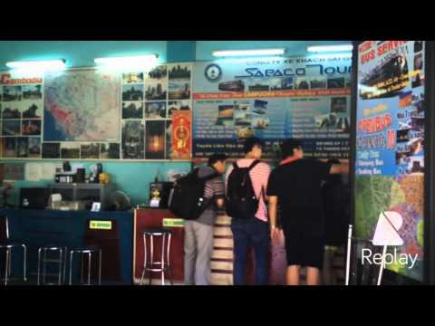 Travel guide Cambodia - Vietnam by Bus Sapaco. Du lịch Cpuchia bằng xe bus Sapaco
