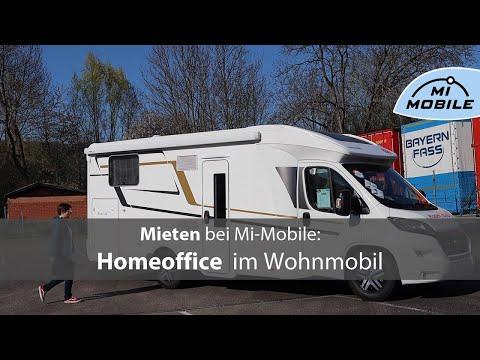Mieten Bei Mi-Mobile:  Homeoffice Im Wohnmobil - Ihr Neuer, Mobiler Arbeitsplatz #stayhome
