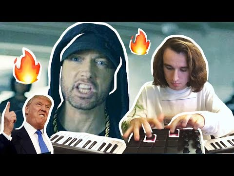 Turning Eminem's Freestyle into an ACTUAL EMINEM SONG (BET CYPHER)