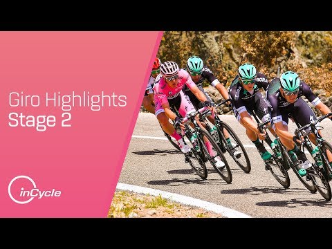 Giro d'Italia Stage 2 Highlights