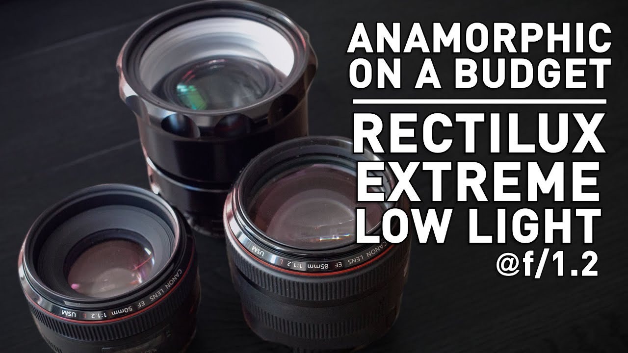 Real Anamorphic for less? The Rectilux 3FF-W single focus