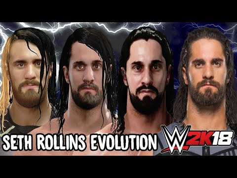 Seth Rollins Ratings and Face Evolution (WWE 2K14 - WWE 2K18)