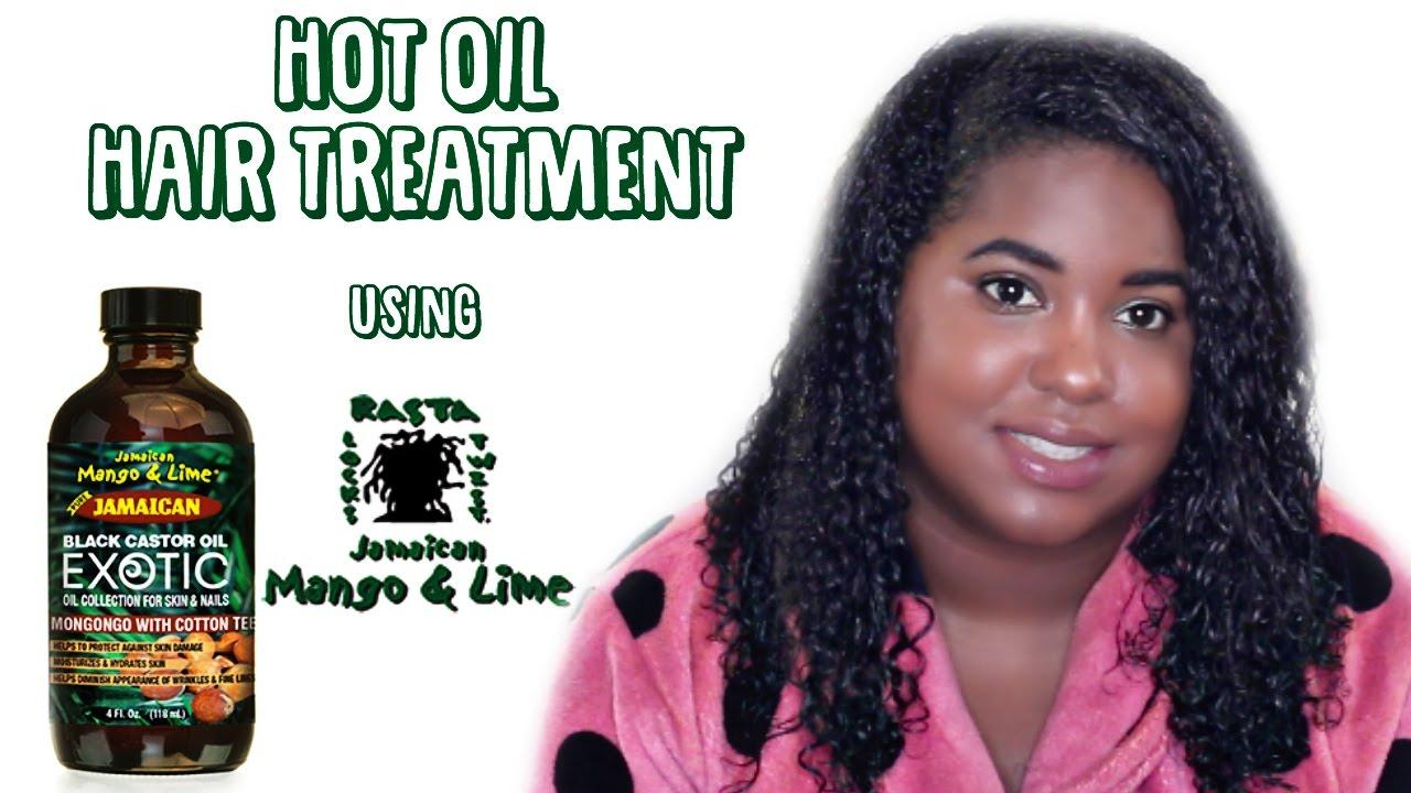 Hot Oil Treatment Black Natural Hair