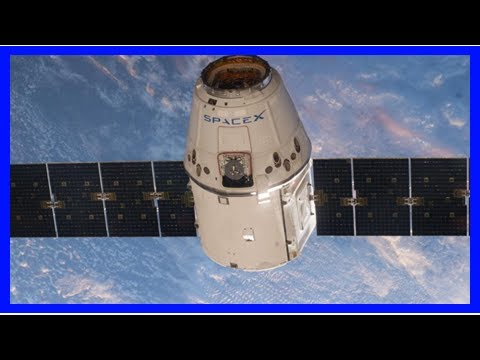 Crs-13 dragon berthed with international space station