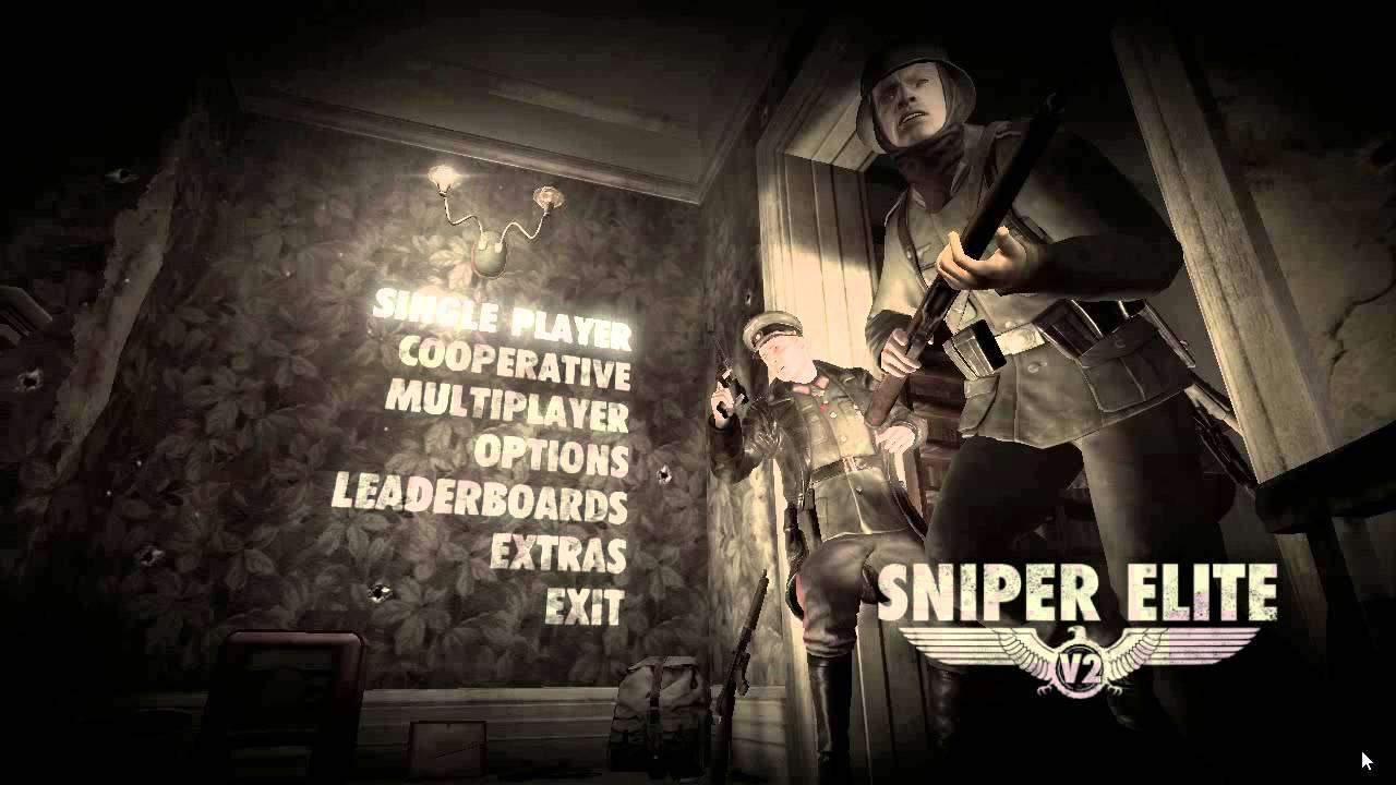 sniper elite v2 skidrow change language