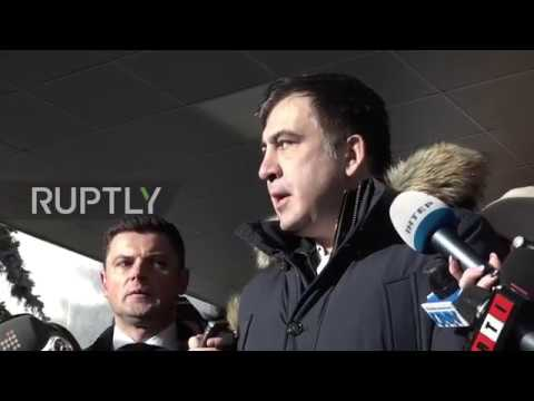 Ukraine: Saakashvili questioned by Kiev security service