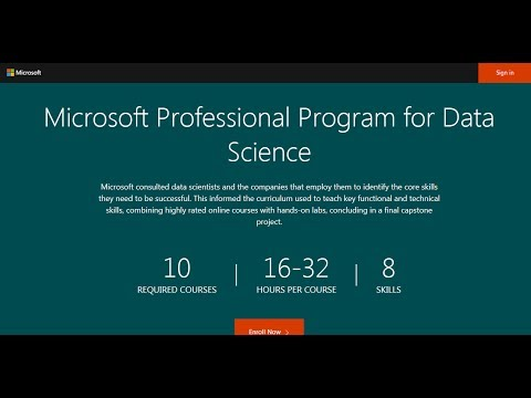 Microsoft Professional Program Certificate In Data Science Review
