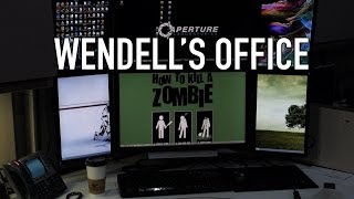 Wendell&#39s Office Tour - The Ultimate Nerd Compound
