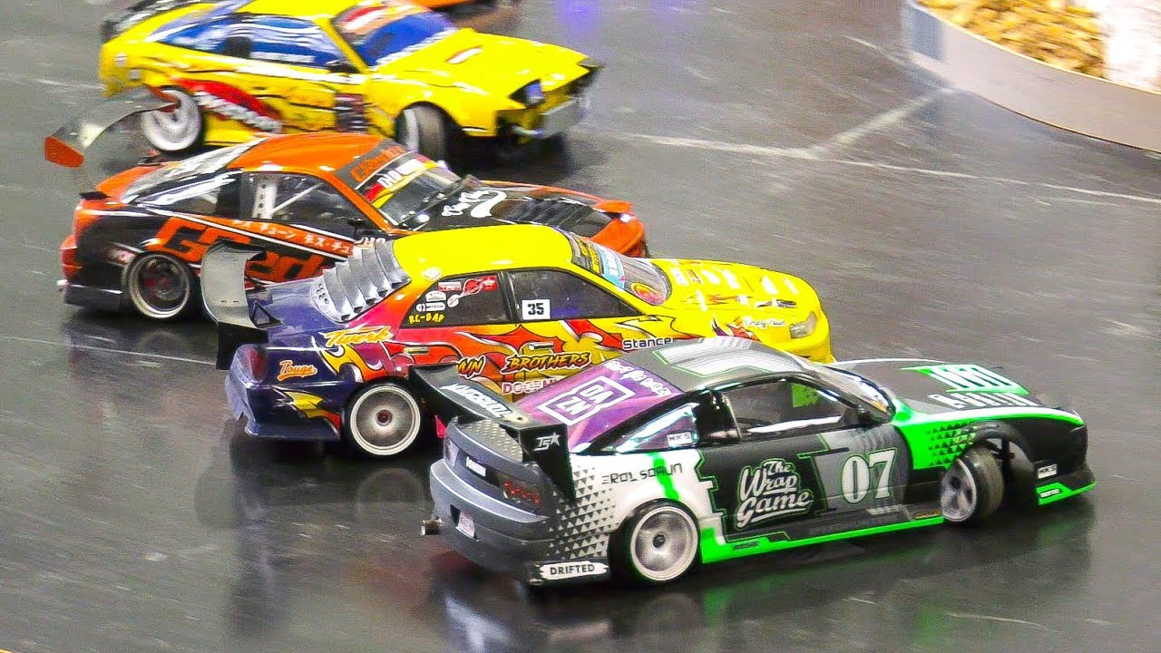 AMAZING RC DRIFT CARS IN ACTION!! COOL RC MODEL DRIFT RACE ...