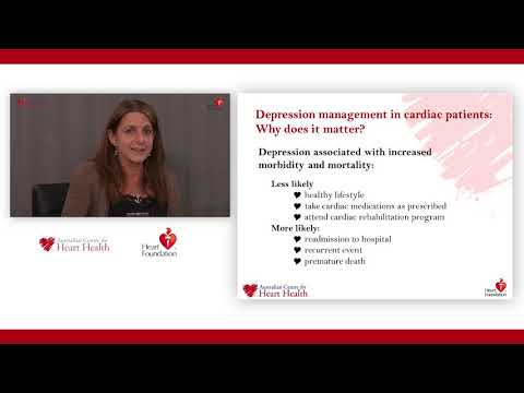 Webcast: Cardiac blues and depression post heart event