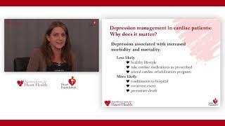 The heart foundation hosted a live webcast, which offered health professionals rare opportunity to learn more about connection between depression and c...