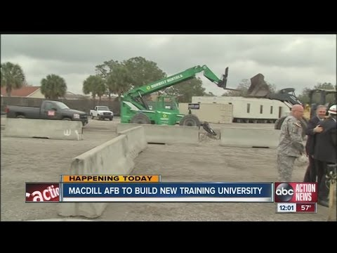Joint Special Operations University Campus groundbreaking