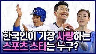 한국인이 가장 사랑하는 스포츠 스타는 누구? [썰데이서…