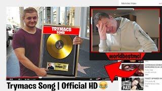 😂😂 DER TRYMACS SONG HAHA !!   Reaktion auf ein lustiges Video!