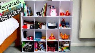 [Room Decor No 1] DIY cardboard project : organiser