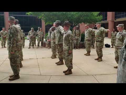 Open Rank Platoon Inspection