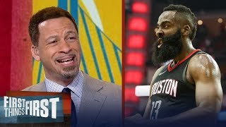 Chris Broussard on why James Harden's Rockets should fear Warriors Game 4 | NBA | FIRST THINGS FIRST