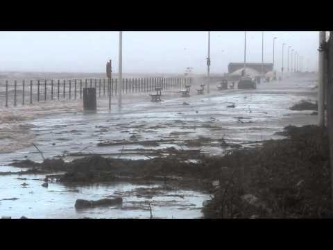 Storm surge in the Irish Sea
