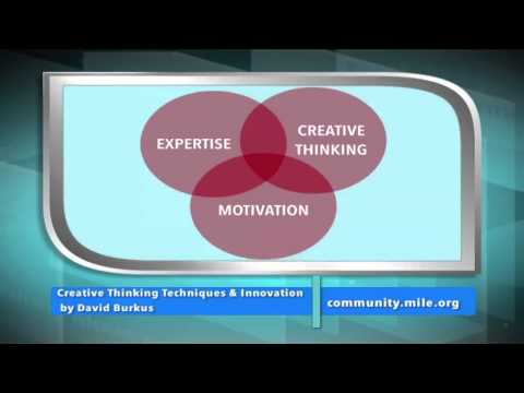 MILE WebRary – Creative Thinking Techniques and Innovation by David Burkus