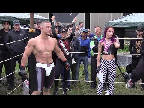 STEROID fighter vs MMA Fighter !!! Fast Fight !!!