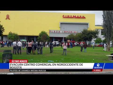 Evacuan centro comercial Plaza Imperial ante supuesta amenaza explosiva
