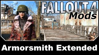 Скачать Fallout 4 Mods Armorsmith Extended