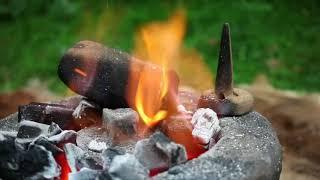 Prehistoric Survival   Ancient Bronze Casting In The Wild  