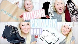 Primark Haul 2015 (Autumn) | sophielouisebeauty