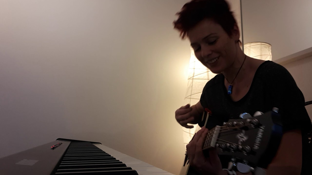 Happy - Pink. Sharron Levy guitar/piano cover
