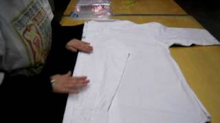 How to Fold a Long Sleeved Shirt