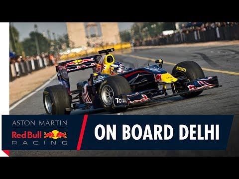 On Board for a sunset cruise with Daniel Ricciardo in Delhi!