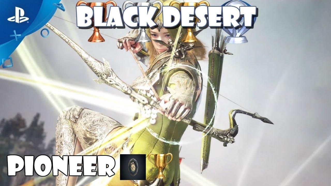 Black Desert: Trophy guide