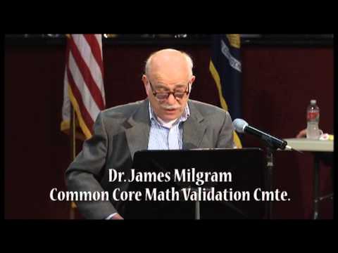 Dr. James Milgram - Common Core Forum Baton Rouge LA 02/20/2014