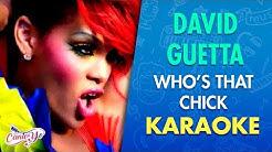 David Guetta - Who's That Chick (Karaoke)   CantoYo