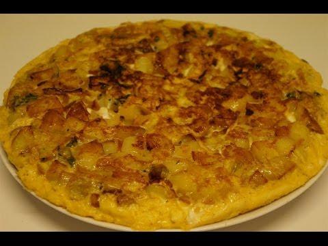 tortilla-de-pomme-de-terre-facile-et-rapide-(cuisine-rapide)
