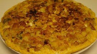 Tortilla de pomme de terre facile et rapide (CUISINE RAPIDE)