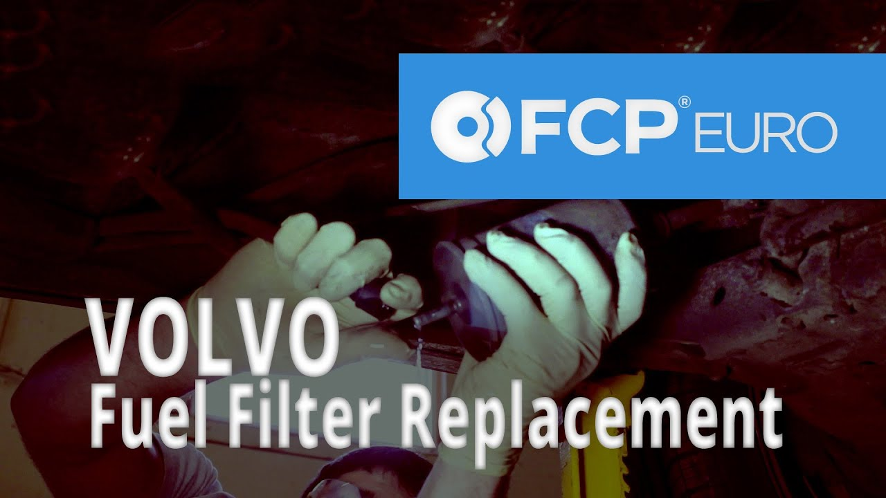 Volvo Fuel Filter Replacement (850 Turbo) - YouTube