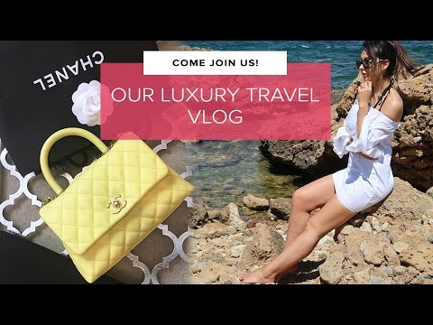JOIN US! Luxury Travel, Chanel Handbags & Champagne | Crete Vlog | Sophie Shohet
