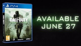 STAND ALONE Call of Duty Modern Warfare Remastered 2017 Launch Trailer