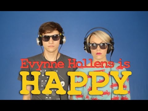 Happy - Pharrell Williams (cover) By Evynne Hollens