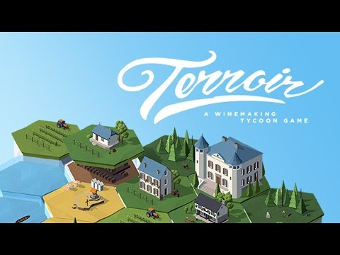 Starting our own Winery! - Terroir Gameplay - Winery Tycoon Game
