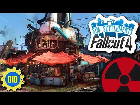 Fallout 4 | Sim Settlements #010: Ankunft in Diamond City ☢ [Lets Play - Deutsch]